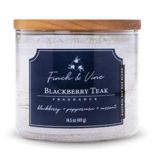 De Finch & Vine collectie zijn mooie sojakaarsen voor elke dag met 3 katoenen lonten. Laat je meeslepen naar de mooiste weiden, velden en tuinen!